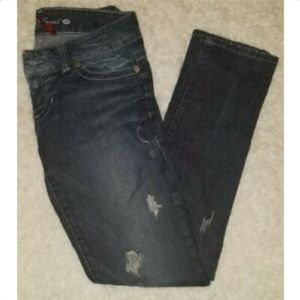 Guess Jeans Distressed Daredevil Skinny Leg 29